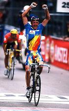 JOHAN MUSEEUW 1996 WORLD CYCLING CHAMPIONSHIPS LUGANO POSTER