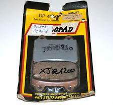 2 plaquettes de frein Av DUNLOPAD Yamaha TRX TDM 850 TDR TZR 250 FJ 1200 SRX 600