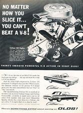 1962 Oldsmobile Cutlass Vintage Advertisement Ad - PE3