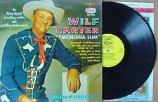 "WILF CARTER - ""MONTANA SLIM"" - STARDAY LP"