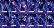 12 Avengers 4: Endgame Movie 2019 Transparent Promo Card PVC CHARACTOR CARD