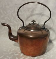 19th Century Large Vintage Antique Copper Kettle. Part of a recent Barn Find.