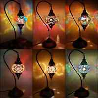 5000+ SOLD Turkish Moroccan Colourful Mosaic Lamp Light Tiffany Glass Desk Table