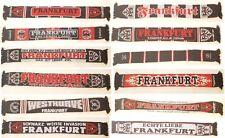 Verschiedene Frankfurt Schals, Schal, Jaquardschal, Stadtnamen, Fans, Sammler