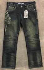 NEW AFFLICTION $145 MENS BLAKE FALLEN JEANS IN DAKOTA SZ 38