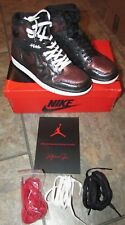 Nike Air Jordan Women's 1 High OG 'Fearless' Black Size 7.5 CU6690-006 MSRP $160