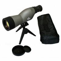 Perrini 15-50X60 Scope Multi-Coated Spotting Compact Tripod W/ Case Binoculars