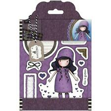 New Simply Gorjuss Urban Rubber Stamps TWEED  Rainy Daze SET  SANTORO
