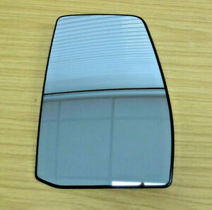 FORD TRANSIT CUSTOM 2012+ WING MIRROR GLASS - RIGHT O/S - HEATED - GENUINE