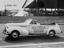 Buick Roadmaster Convertible 1939 - pace car Indianapolis 500 May 30 1939 –photo