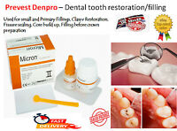 Strong Teeth Tooth Repair Permanent dental Cement cavity Filling Restorative kit