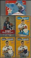 2005 Topps Bazooka Football Game/Event Worn Used Jersey 5 Card Lot