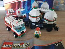 Lego 9V Eisenbahn 4537 Octan Tankwaggon + BA u. OVP