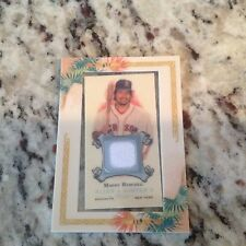 MANNY RAMIREZ Boston Red Sox Game Used Jersey card 2006 TOPPS ALLEN & GINTER