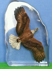 Signed Mixed Media Eagle Sculpture Kitty Cantrell  #392/1250 Limited Edition