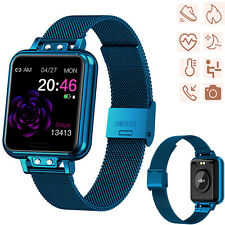Bluetooth Smart Watch Heart Rate Blood Pressure Monitor for Samsung S20 S10 LG