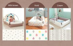 Baby bumpers bed-play mat Korea (an extra covers as a gift)