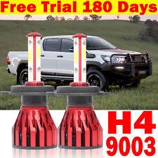 H4 HB2 9003 LED Car Headlight Hi-Lo Kit Beam Globes for Toyota Ford Hilux Ranger