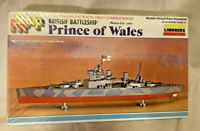 Lindberg Snap Fit Prince of Wales 1/1000 Scale Model Kit #872 Factory Sealed
