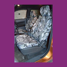 Ford Ranger Wildtrack 2016+ Tailored Waterproof Front Grey Camo Seat Covers