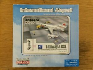Dragon Wings 1/400th Scale Scanair DC-10-10 Model & Airport Diorama Set