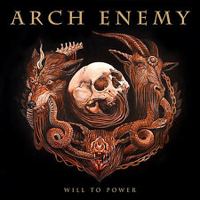 Arch Enemy Will to Power LP Vinyl European Century Media 2017 11 Track 180 Gram