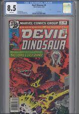 Devil Dinosaur #9  CGC 8.5 1978  Marvel  Jack Kirby Last Issue: New Frame