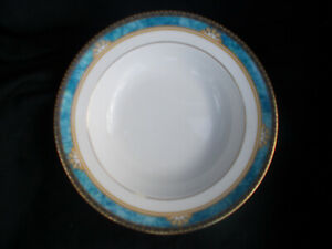 Wedgwood CURZON  Rimmed Soup Plate. Diameter 8 inches.20.4 cms