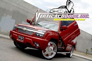 Vertical Doors - Vertical Lambo Door Kit For Chevrolet Avalanche 2003-06