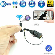 4K HD 1080P Wifi IP Wireless Camera network Security button screw Recorder