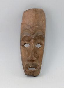 8639057 Holzskulptur Afrika Maske Herkunft ? Tropenholz wohl alt