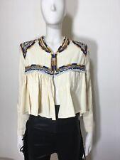 Isabel Marant embroidered Beaded jacket/Top/Blouse SZ UK8-10/FR 40