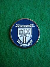 St Andrews Links Old Course Blue Golf Ball Marker Flat Coin - Fife Scotland Uk