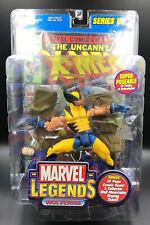 """Marvel Legends WOLVERINE 6"""" Action Figure ToyBiz Series 3"""