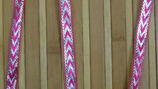 1.3 cm wide 01 Yard Jacquard Trim Ribbon Braid Fringe Trim Floral T840-MR