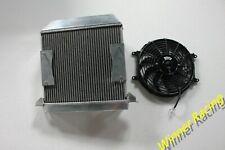 "Fits Morgan Plus 4 1954-1968 Aluminum Radiator &12"" Fan & Mounting"