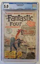 FANTASTIC FOUR #13 CGC 5.0 OW/W MARVEL COMICS 1963 1ST WATCHER! NO RESERVE!!!
