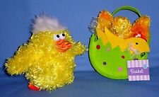 Dan Dee Animated Musical Chicken;Ty Beanie Chickie-NWT;Plush basket gift;LOT-3