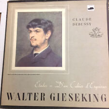 Claude Debussy Walter Gieseking Etudes 35250 Angel Records 33RPM 031017RR