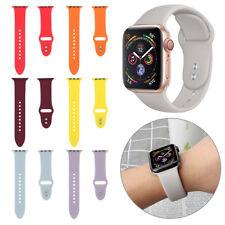 Sport Silikon Uhrenarmband für Apple Watch Serie 4 3 2 1 40mm 44mm iWatch