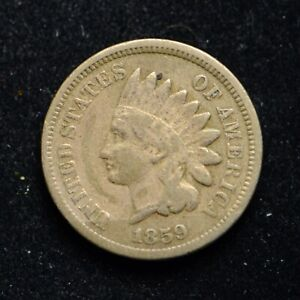 1859 C/N Indian Head Cent (cn8200)
