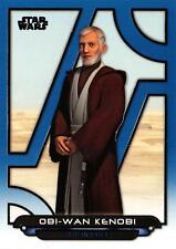 Star Wars Galactic Files (2018) BLUE PARALLEL BASE Card REB-37 / OBI-WAN KENOBI