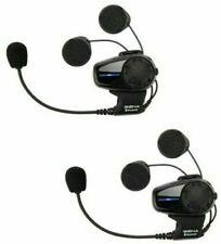 Sena SMH10 Bluetooth Intercom Motorcycle Motorbike Helmet Headset DUAL KIT