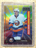 16-17 OPC O-PEE-CHEE Platinum RC Rookies #188 MATHEW BARZAL Rainbow Color Wheel