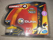 Brand New Connect 4 Dunk Hasbro Gaming Sink 4 Shots Fast