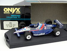 Onyx 1/43 - Indy Car Indianapolis 1991 Valvoline Lola AI Unser Jr