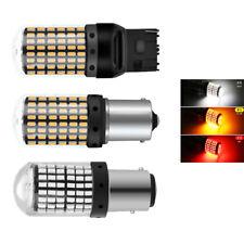 2 PC 1156 1157 7440 BAU15S PY21W LED Daytime Running Light Bulb 33SMD 3 Colors
