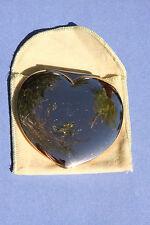 Vintage Evans Heart Shape Compact Case - Circa 1960's