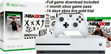 Brand New Microsoft Xbox One S 1TB Console NBA 2K19 Bundle 4K Free game ShipFast