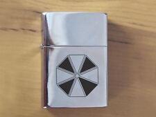 Biohazard Umbrella Resident Evil Polished Chrome Lighter